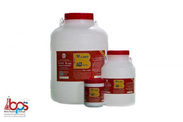 محصولات صنایع شیمیایی برنا تحت عنوان محصول چسب برنا چسب ام جسب M